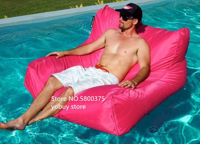 Large Size Water Floating Bean Bag Chair Made Of 420D Oxford-PVC Material 2