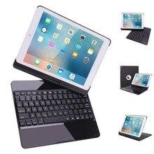"7 farben Backlits Tastatur Fall Aluminium Abdeckung Für ipad Pro 10,5 ""für ipad Air 1 2 Mini 1 2 3 4 Pro 9,7 Abdeckung ipad 1 2 3 4"