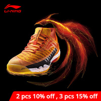 Li Ning Men's PIONEER Professional Badminton Shoes LN BOUNSE Cushion LiNing li ning Wearable Sport Shoes Sneakers AYAN011 XYY083