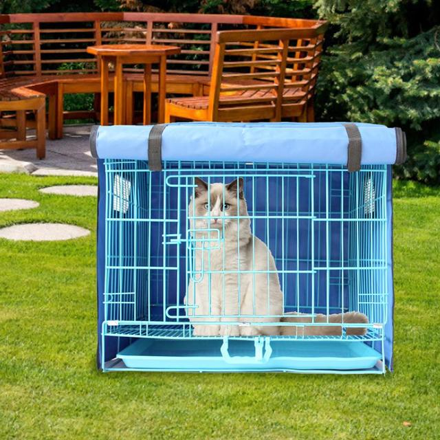 Dog Kennel With Cover  4