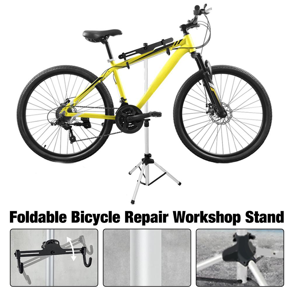 אופניים תיקון סדנה סטנד מתקפל תחזוקה מתלה גובה Adjustble להרחבה אופני תיקון מתלה לכביש אופני הרים