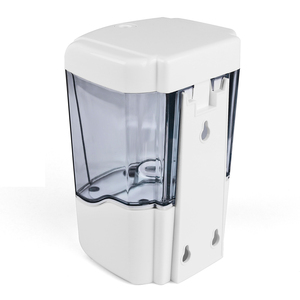 Image 5 - Soap Dispenser Battery Powered 700ml Wall Mount Automatic IR Sensor Touch free Kitchen Soap Lotion Pump for Kitchen Bathroom