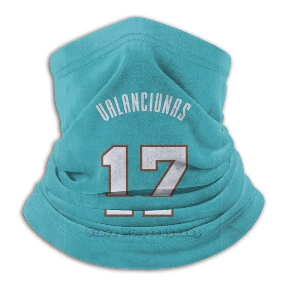 Sports Art-Jonas Valan ? Iūnas Jersey Grizzlies Blue Number Bandana Scarf Mask Scarfs Neck Warmer Headwear Jonas Valanciunas 17