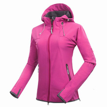 Free shipping Band Women Softshell Jacket Fleece Outdoor Spo