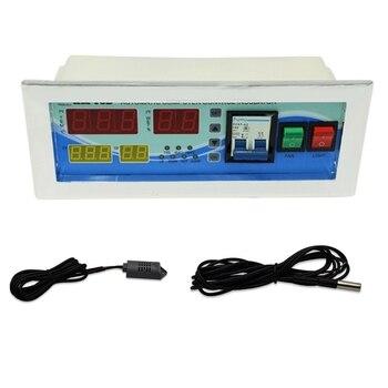 XM-18D Automatic Egg Incubator Controller Digital LED Temperature Controller Temperature Humidity Sensors Egg Hatcher Controller
