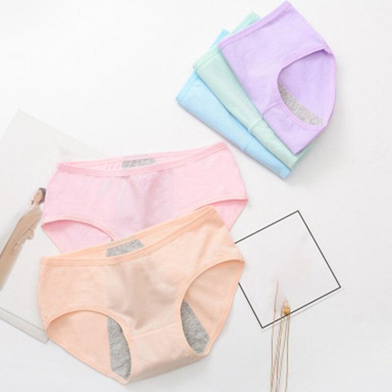 Cotton Menstrual Period Panties Leak Proof Feminine Hygiene Menstrual Panties Physiological Pants Soft Period Panties For Women