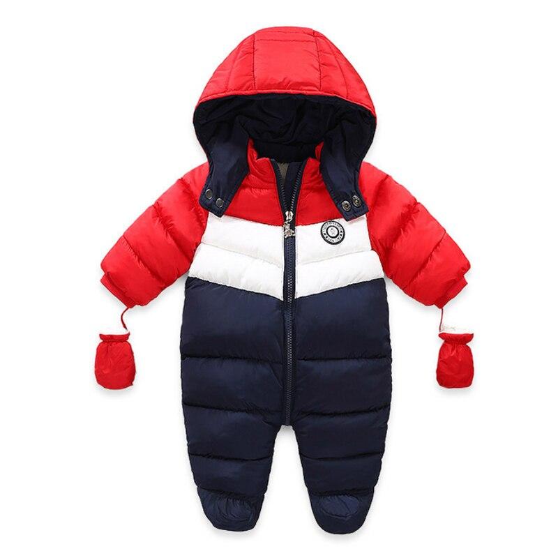 Iyeal для новорожденных зимний костюм детей малышей теплое зимнее