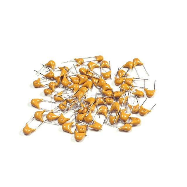 100Pcs 50V monolithic ceramic capacitor 10PF ~ 10UF 22PF 47NF 220NF 1NF 4.7UF 1UF 100NF 330NF 0.1UF 102 104 105 106 103 473 334 3