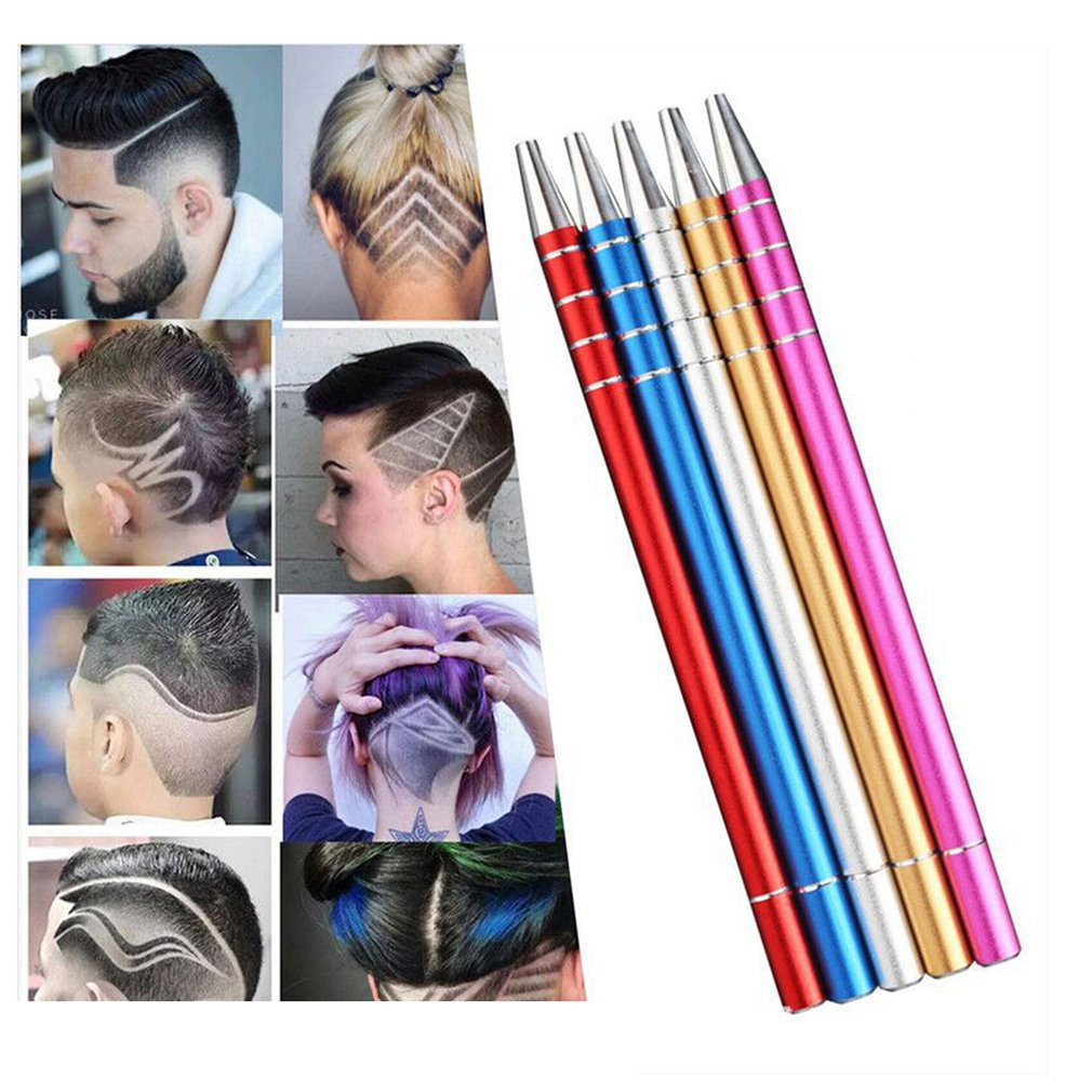 Europe And The United States Magic Carving Pen Hairdressing Adult Children Oil Head Styling Pen Scoring Steel Carving Pen