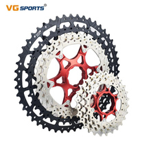 VG Спорт 10 11 12 скоростной горный велосипед кассета отдельная кассета свободного хода алюминиевый сплав кронштейн Звездочка велосипед свободного хода