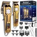 Оригинальные комбинированные наборы, беспроводной мужской электрический триммер для волос, Профессиональная Парикмахерская Машинка для с...