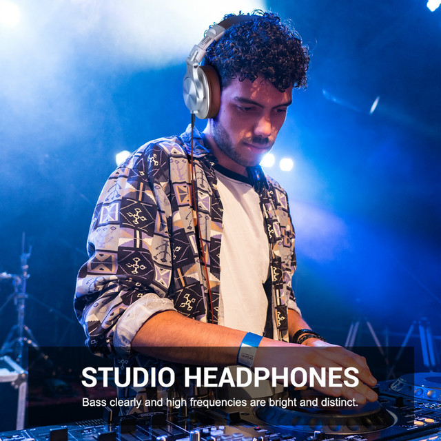 Oneodio A71 Wired Headphones For Computer Phone With Mic Foldable Over Ear Stereo Headset Studio Headphone For Recording Monitor 5