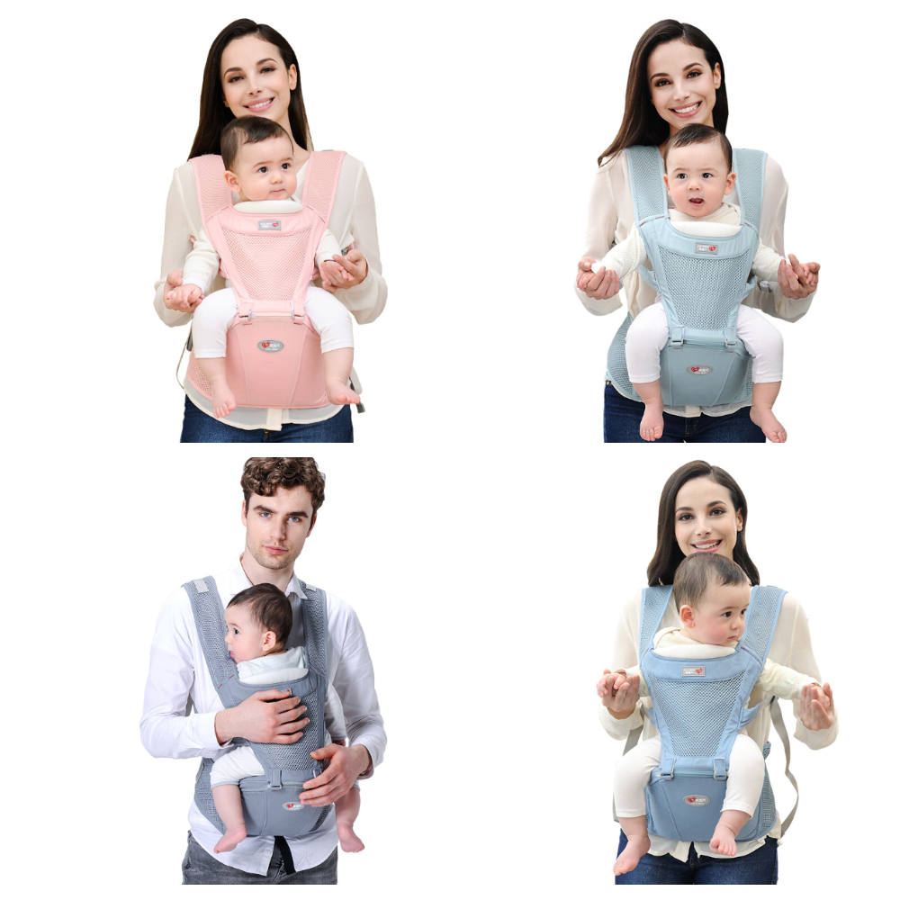 Multifunction Baby Carrier Ergonomic Infant Waist Stool Breathable Baby Sling Infant Hipseat Carrier Travel Baby Straps Gifts