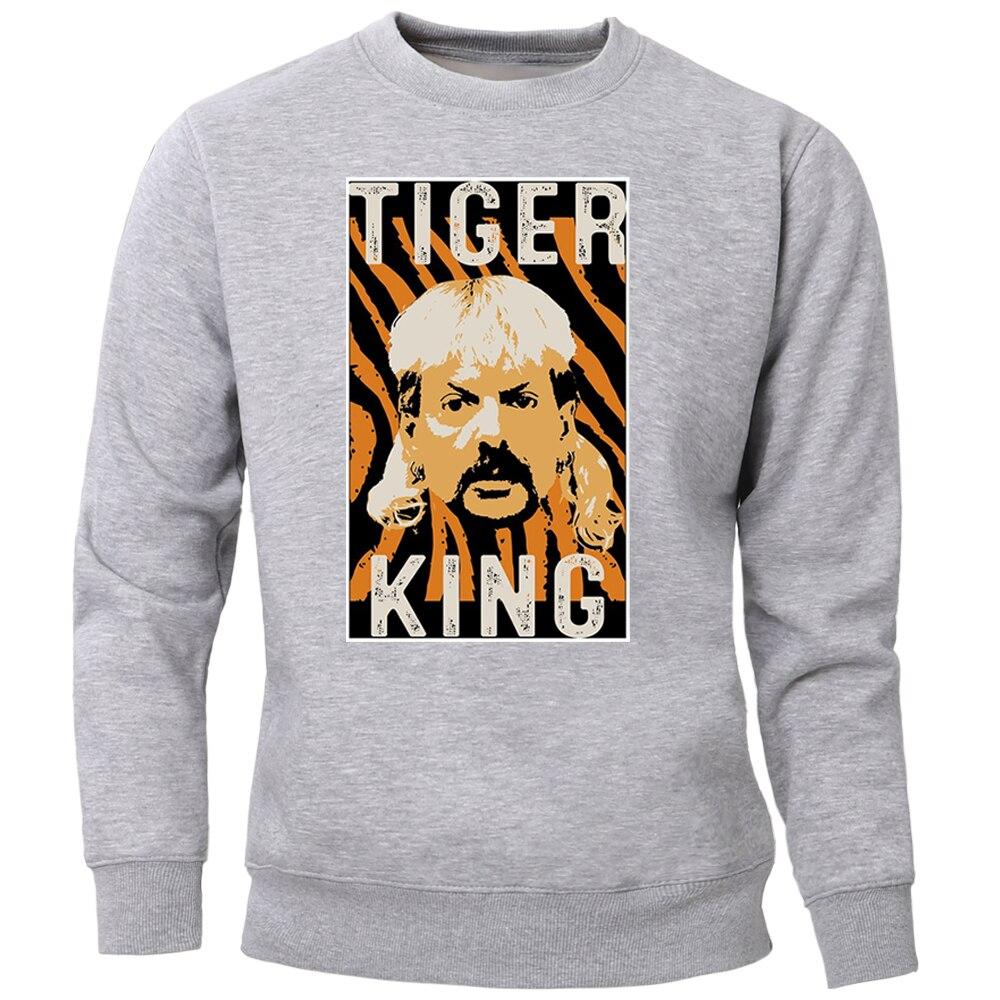 The Tiger King Joe Exotic For President Hoodies Sweatshirts Men Pullover Jumper Streetwear Crewneck Hoody Warm Tops Tracksuits