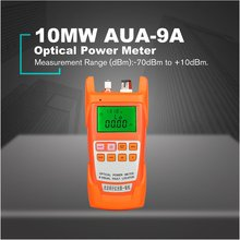 10MW AUA-9A Optical Power Meter Red Light Source One Machine Failure Fault Detector Decay Tester Pen 10km