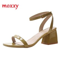 Summer Block Heels Women Sandals 2020 Open Toe Rope Strap Sandals Green Yellow White Elegant High Heels Sandals Women Shoes 2017 summer women high heels sandals open toe wedges heels sandals women dress shoes ankle strap party shoes white black