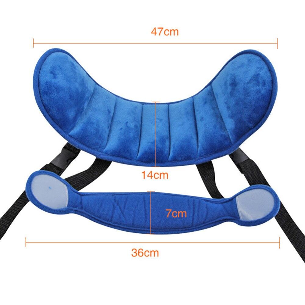 Kid's Adjustable Car Seat Head Support - Beyond Baby Talk