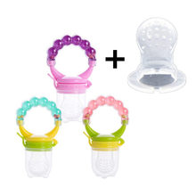 Food Nibbler Baby Pacifiers Nipple for Fruit Feeder Nipples Feeding Safe Pacifier + Replaceable