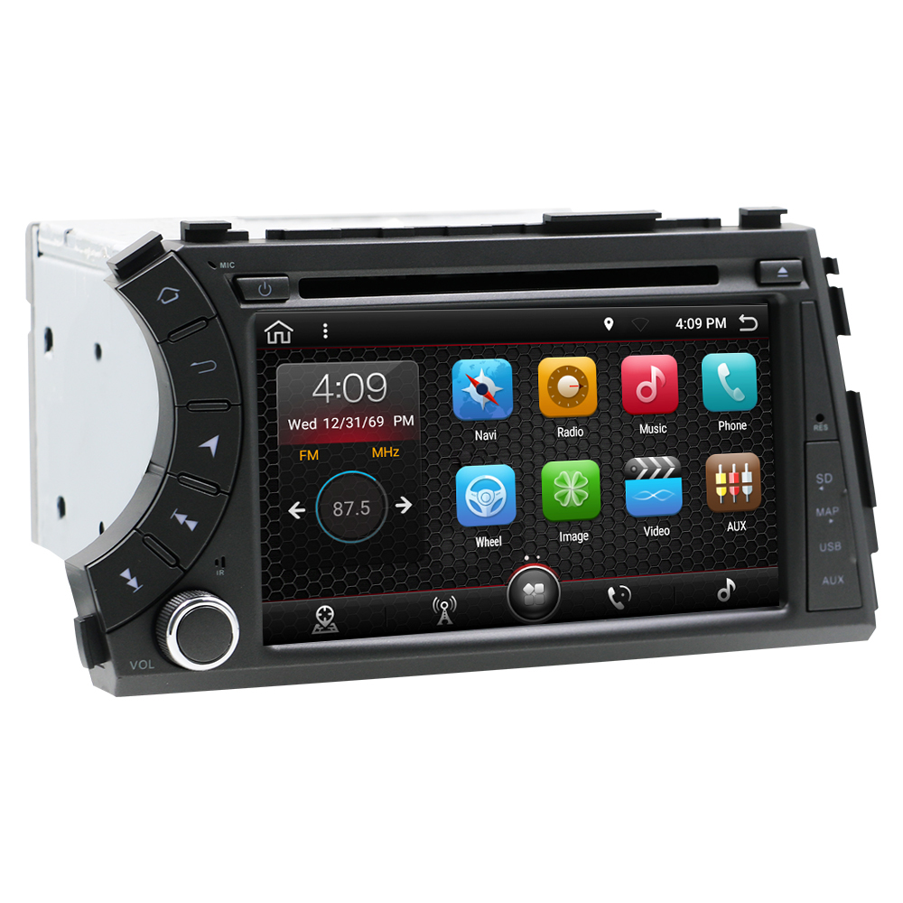 Eunavi 2 din android 10 auto Dvd gps für ssang Yong ssangyong Actyon Kyron Multimedia radio stereo steuergerät player ips BILDSCHIRM RDS