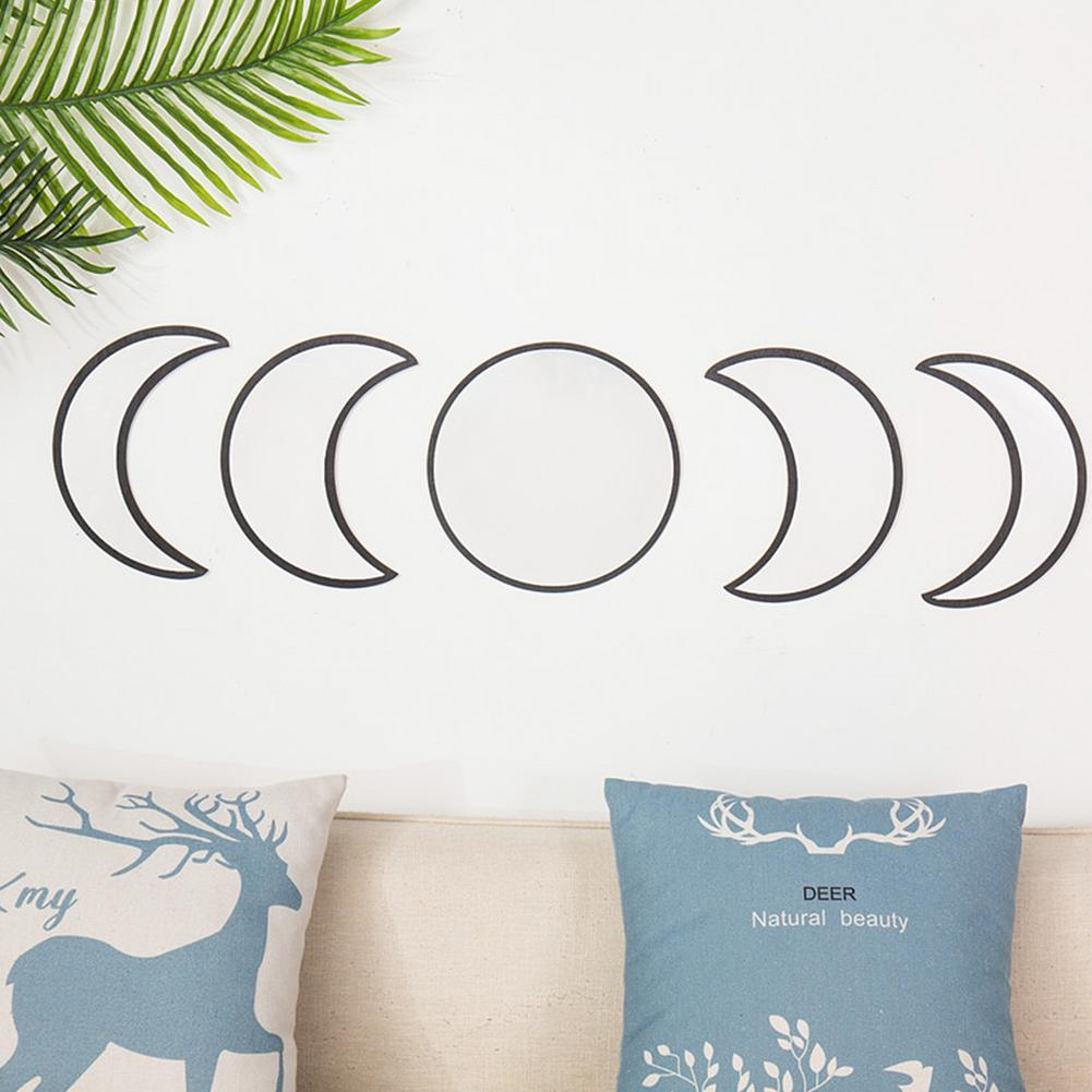 da lua espelho boêmio decoração de parede