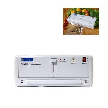 Free Express Shipping! Home Electric Vacuum Food Sealer Heat Sealing Machine Household Packing Sealers Food Saver Preserver