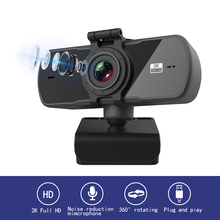 New Webcam 2K Auto Focus USB Full HD Web Camera with Microphone Cam for Mac Laptop Computer Video Live Streaming