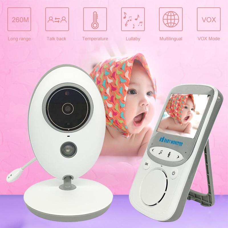 Moniteur électronique 720 bébé caméra audio sans fil babyfoon elektroniczna vidéo vigilabebes connecté wifi vidéos surveillance