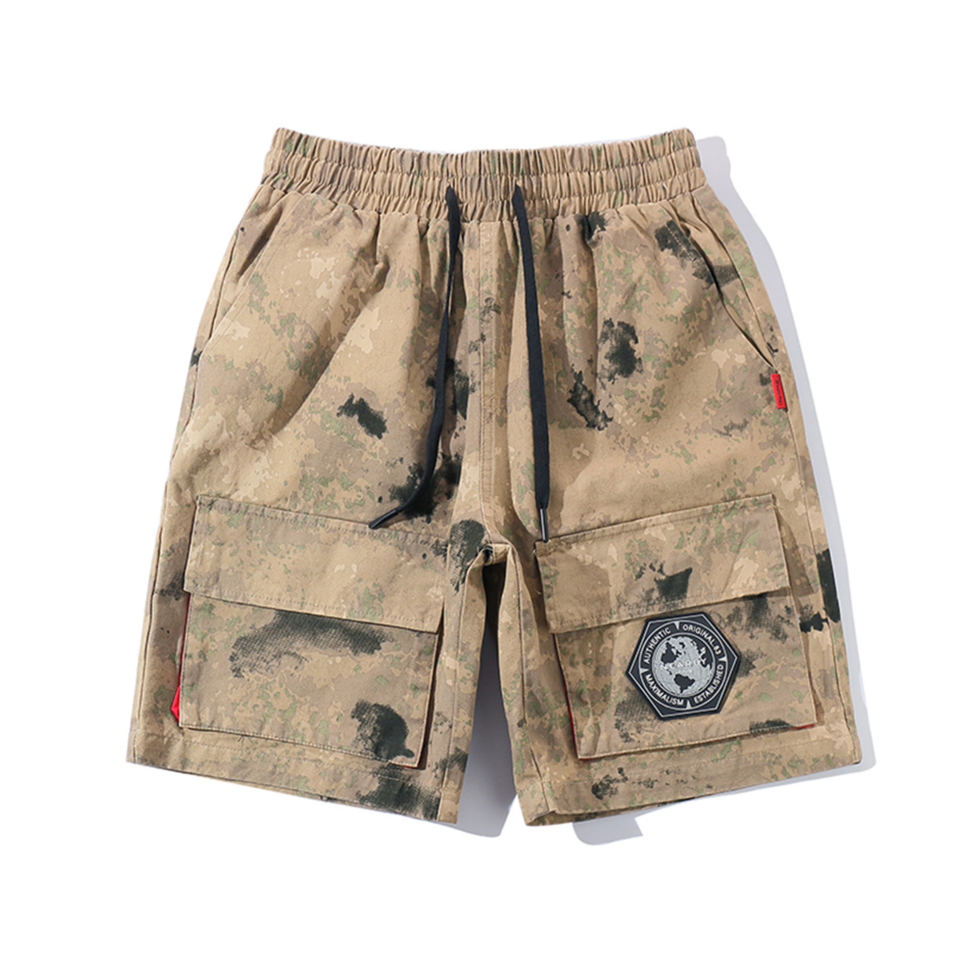 Summer Casual Men Shorts Streetwear Vintage Cargo Shorts Jogger Camouflage With Pockets Fashion Kleding Vanquish Fitness XX60MS
