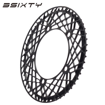 3SIXTY Bicycle Crank 130BCD Spider Shape 47T/53T For Brompton MTB Chainring Bicycle Circle Crankset BMX Folding chainwheel bike