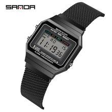 Часы наручные sanda женские цифровые роскошные Ультратонкие