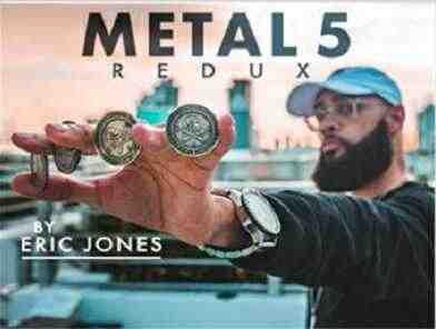2020 Metal 5 de Eric Jones-trucos de magia