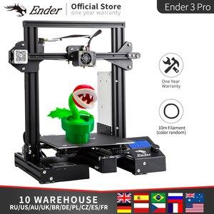 Ender-3 Pro 3D Stampante Kit FAI DA TE Riprendere Potere Off Cmagnet Costruire Piatto di Grande Formato di Stampa MW di potenza di alimentazione ender 3prox Creality 3D(China)