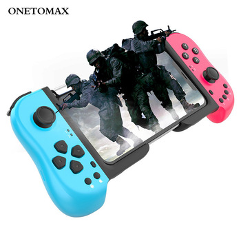 New Wireless Bluetooth Gamepad BT5.0 Game Controller For Android Smartphones Gaming Joystick Joypad For iPhone flydigi x9etpro bluetooth wireless game gaming controller gamepad for iphone for android aa battery control joystick