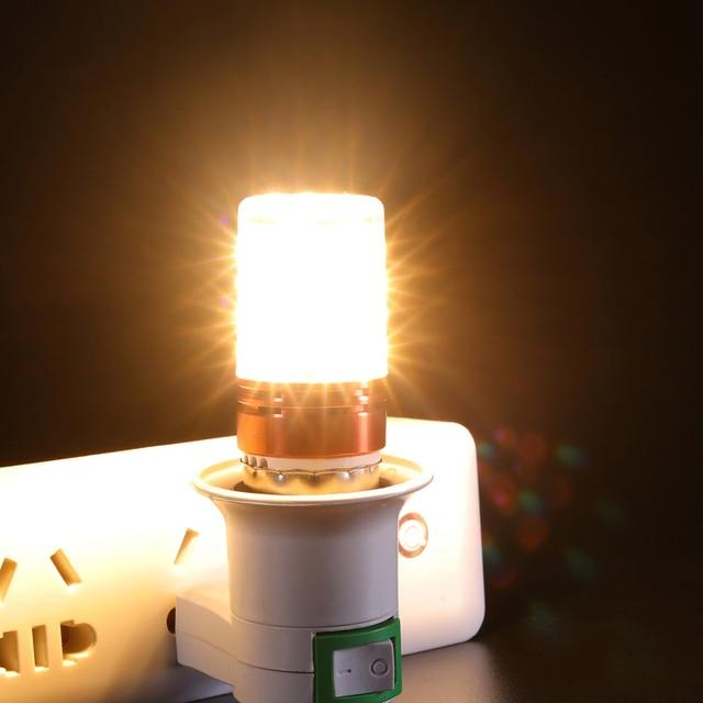 E27  E14 8W 12W 16W SMD2835 Led Candle Bulb 220V 230v Save Energy Warm/cool white LED Corn Lamp Bombillas Home Light