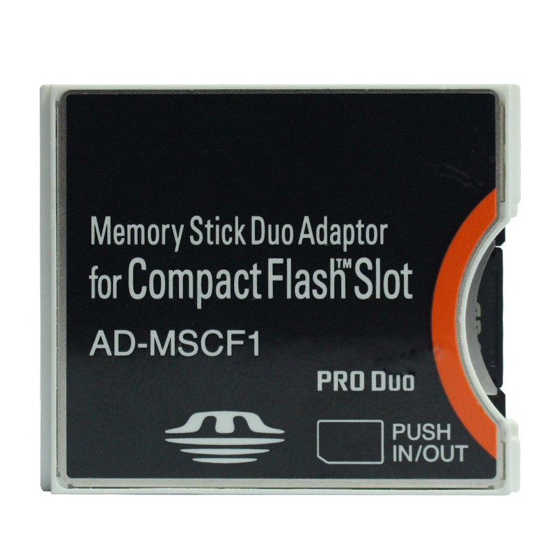 Memory Stick Duo Adaptor For CompactFlash Slot MS PRO DUO Adapter CF Adapter AD-MSCF1 MS Card Adapter To Compact Flash CF Card
