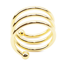 Нержавеющая сталь кольца для салфеток золото/серебро Цвет для украшения стола кольца для салфеток Рождественский Держатель салфеток Paty украшение стола