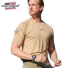 Emersongear Blue Label Mens Training Shirt Stretched Quick Dry Shirt Outdoor Sports Hunting Climbing Skin Friendly Active Shirt