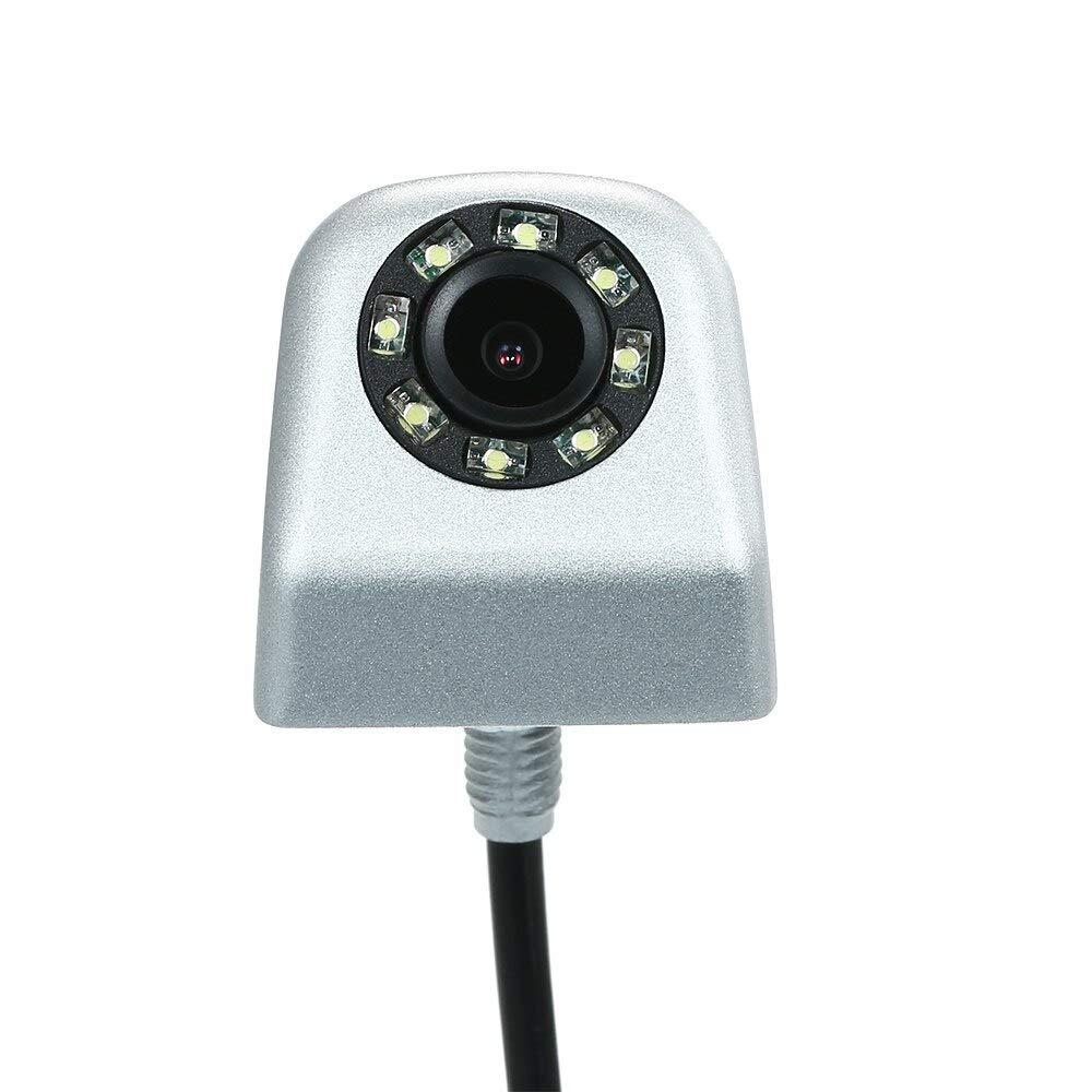 YuanTing Автомобильная передняя сторона заднего вида/Передняя камера водонепроницаемая HD масштабные линии расстояния для авто парковочная система - Название цвета: XHG