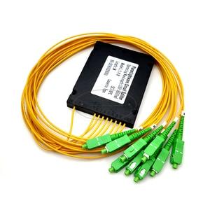 Image 4 - SC APC 1x8 PLC Fiber optical splitter einzigen modus mit SC APC stecker FTTH