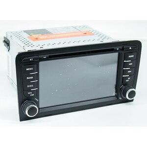 Image 4 - אוקטה Core DSP אנדרואיד 10 רכב DVD GPS עבור אאודי A3 2003 2011 עם DVD נגן רדיו סטריאו אודיו אוטומטי מולטימדיה מסך ניווט