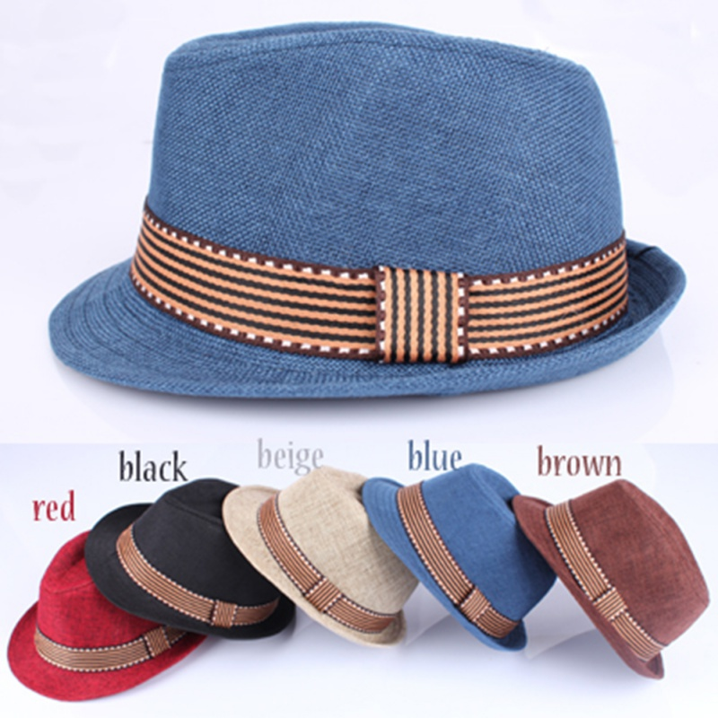 Hat Baby Straw-Cap Jazz American-Style Baby-Boys-Girls Kids Children Fashion 2-6T Cup