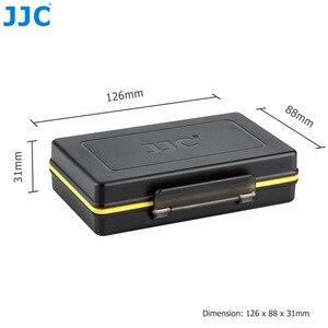 Image 5 - JJC المياه مقاومة المضادة للصدمة كاميرا بطارية حالة مربع ل فوجي فيلم NP W126 NP W126S NP 95 مع فتحات ل SD MSD XQD بطاقة الذاكرة