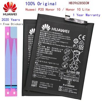 Hua Wei Replacement Phone Battery HB396285ECW 3400mAh for Huawei P20 / Honor 10 Lite Nova 2 Mate Original Batteries