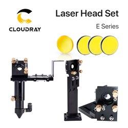 Série Cloudray E: jeu de têtes Laser CO2 + lentille de mise au point 1 pièces + miroirs Si / Mo 3 pièces pour pièces de Machine de découpe de graveur