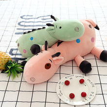 45CM cute elk doll pillow giraffe plush toy elk children birthday gift