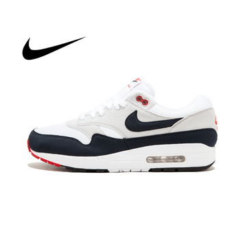 цена на Original Authentic New Arrival Authentic Nike AIR MAX 1 ANNIVERSARY Mens Running Shoes Good Quality Sneakers Outdoor