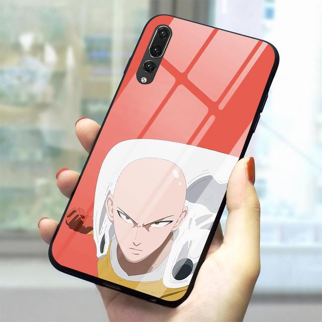 ONE PUNCH MAN THEMED HUAWEI PHONE CASE (12 VARIAN)