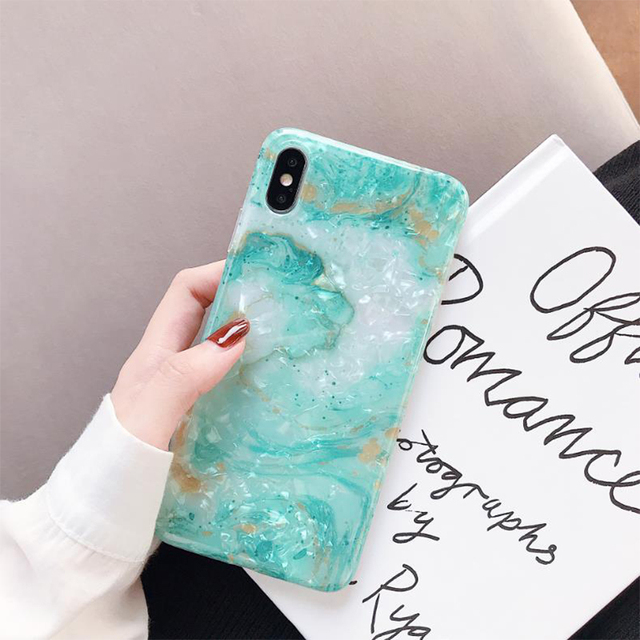 Noble Blink Light Blue Phone Case for iPhone XS Fitted Silicone Case for iPhone XS Gift for Women Girls 2