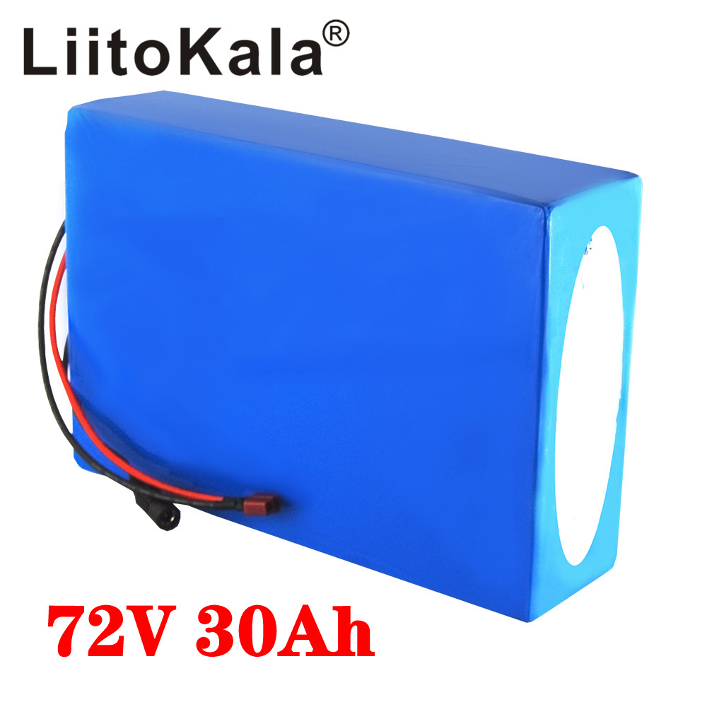 LiitoKala 20S <font><b>72V</b></font> <font><b>20Ah</b></font> 30Ah 40Ah 50Ah electric bike <font><b>battery</b></font> 21700 5000mAh cell <font><b>72V</b></font> electric scooter <font><b>lithium</b></font> <font><b>battery</b></font> with BMS image