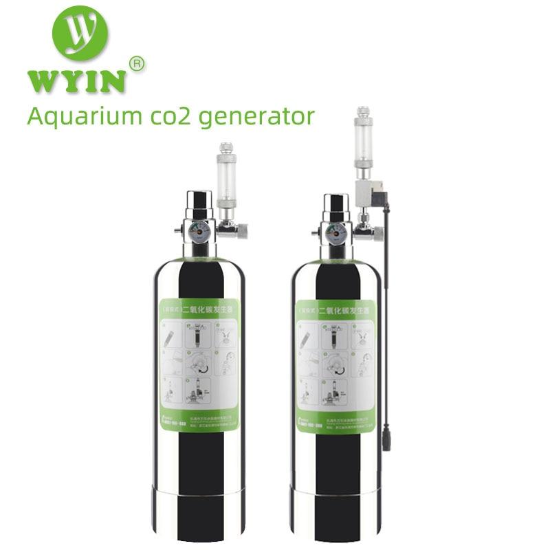 ZRDR Aquarium DIY CO2 Generator System Kit With Pressure Air Flow Adjustment Water Plant Fish Aquarium ValveDiffuserThe Reaction